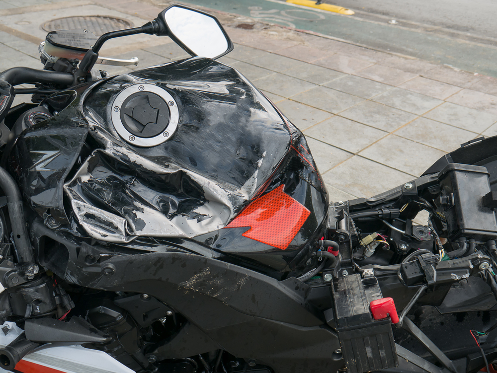 Camden County Collision Causes Fire And Serious Injury To Motorcyclist